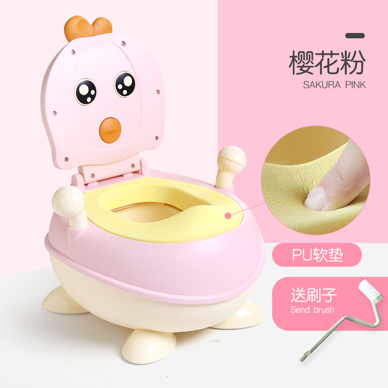 NEW UPGRADE PU CUSHION PINK (SEND CLEANING BRUSH)