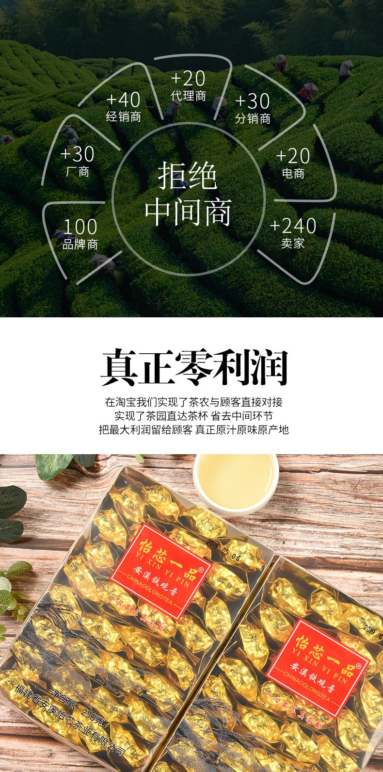 【发斤】特级安溪铁观音茶叶浓香型秋茶高山散装乌龙茶详细照片
