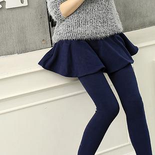 瘦腿神器打底裤裙,打造时尚冬季