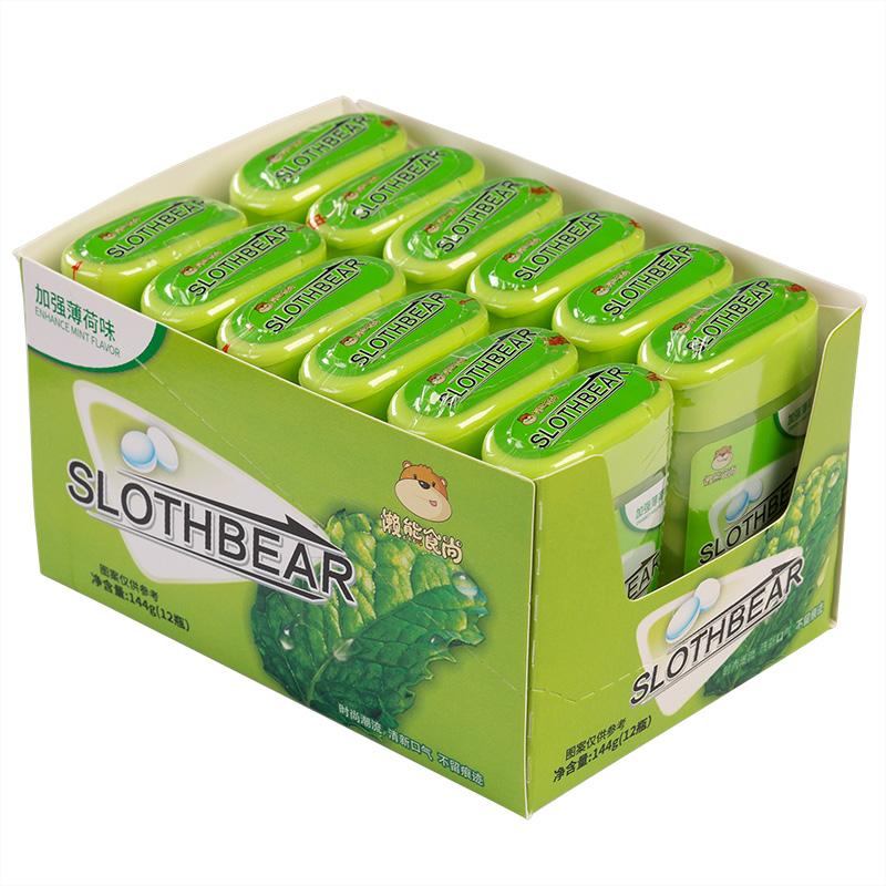 无糖薄荷糖 6瓶 爽口含片木糖醇清新口气接吻糖果网红香体吐息糖
