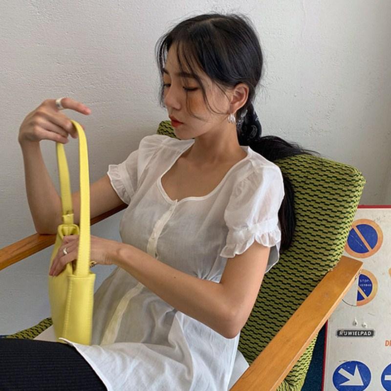 Túi phụ nữ mùa hè 2020 mới đơn giản và linh hoạt túi xách da sáp dầu dưới cánh tay túi nhỏ - Túi tin nhắn / túi xách tay / Swagger túi