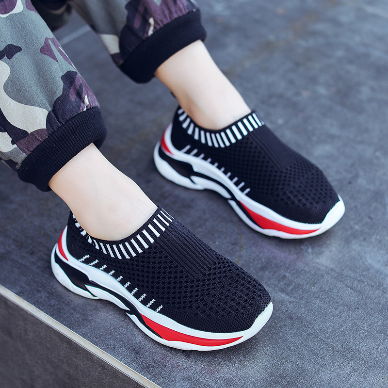 夏季儿童透气网面运动鞋