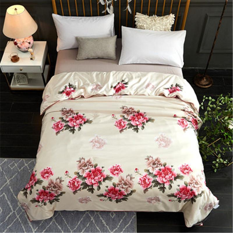 优质蚕丝被 春秋被 空调被芯 加厚保暖双人床上用品家纺婚庆包邮