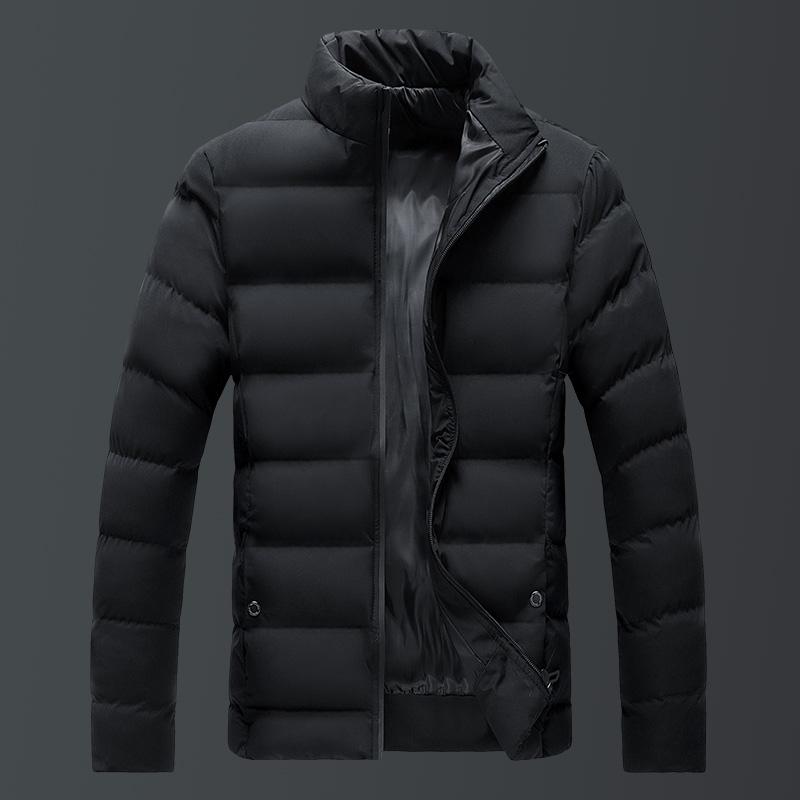 男士外套冬季2019新款棉衣青年潮流韩版加厚帅气修身羽绒棉服棉袄
