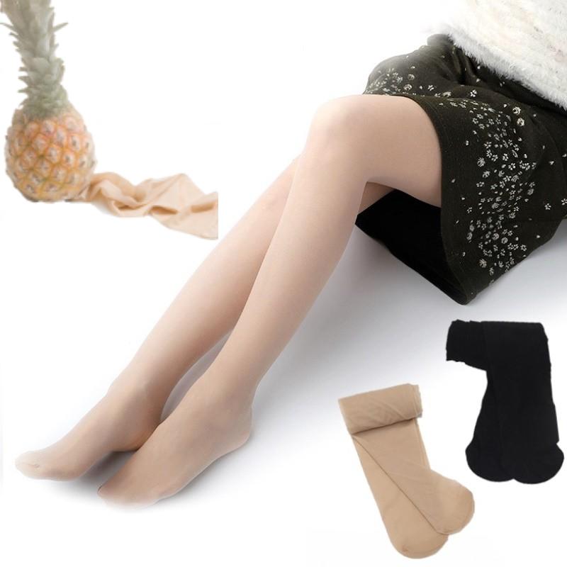 拍2件第二件0元 丝袜女薄款性感防走光连裤菠萝袜春秋款光腿神器a