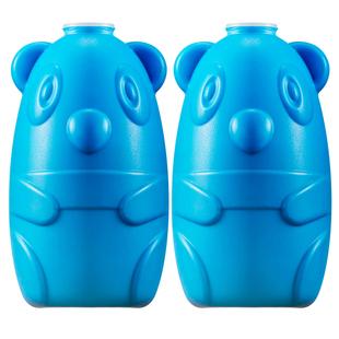 【凝胶原料】2瓶蓝泡泡洁厕宝