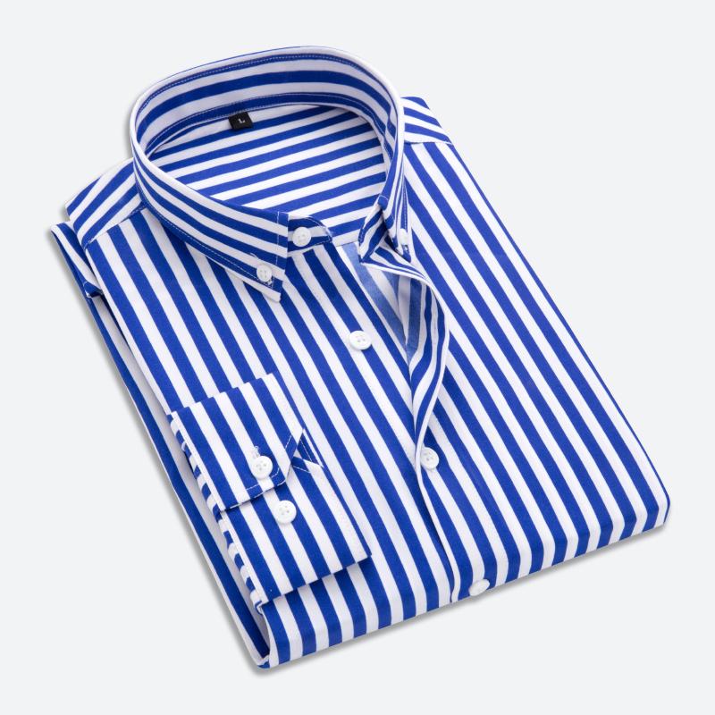 衬衫男Men Dress Shirt Men's Long Sleeve big Size man Shirt
