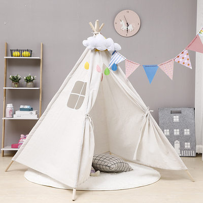 Indian children's tent boys and girls indoor play house small house outdoor picnic tent ins outing spring