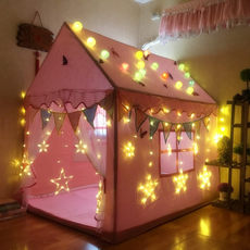 Children's tent Family Game House Princess indoor toy house girl indoor house boy baby split bed artifact