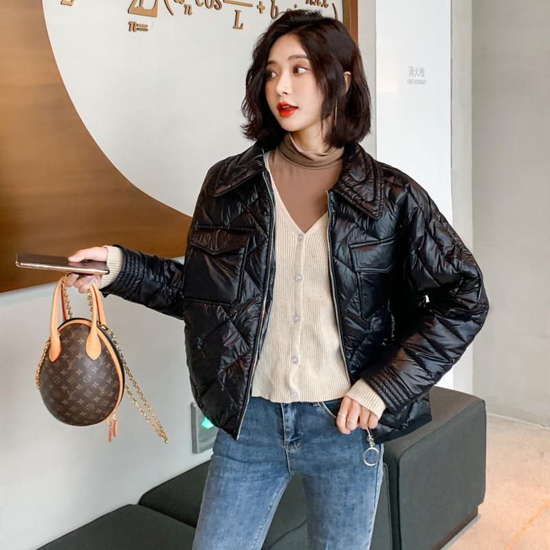 学生女棉袄2019冬季新款韩版短款外套ins棉服服羽绒宽松面包棉衣