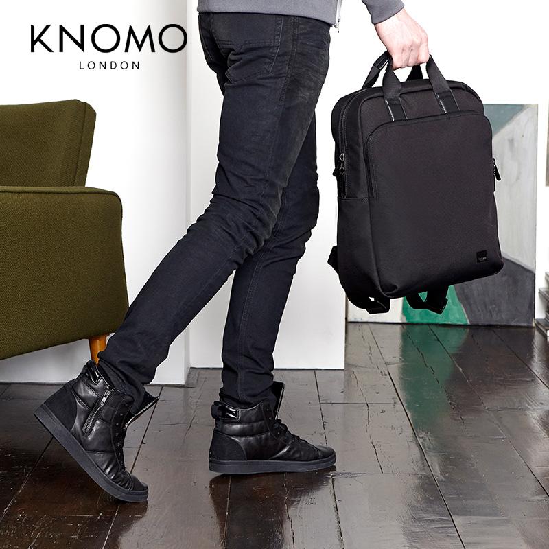 英國KNOMO JAMES新型手提商務雙肩包15寸公文包手提雙肩背包男包