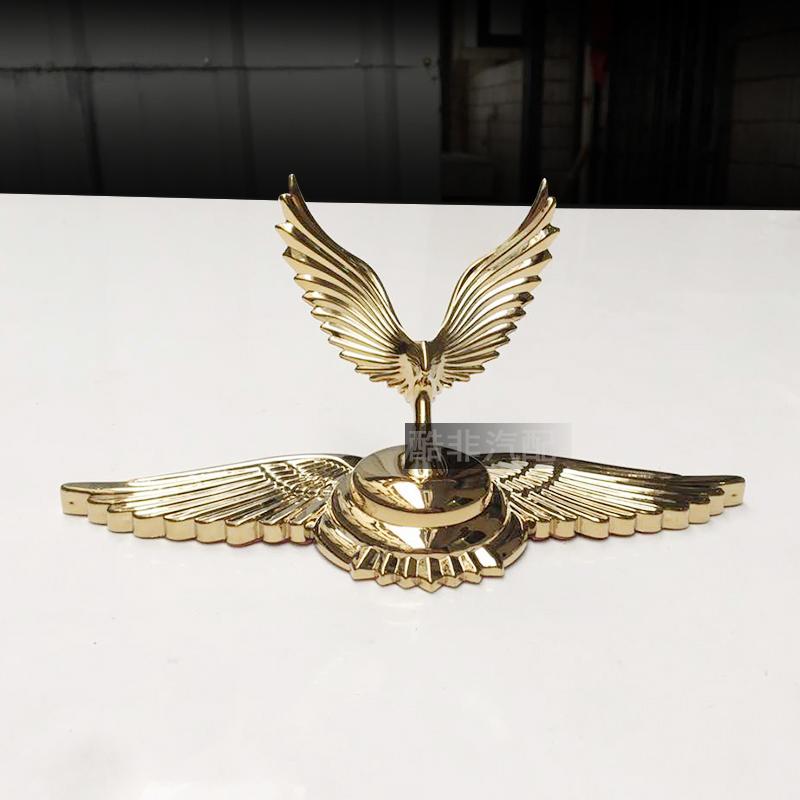 立标a标志标志个性汽车车标发动机引擎盖改装神马老鹰女神车标装饰
