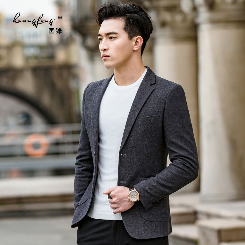 235a7ded1 Men's casual suit male slim Korean version of the handsome 2019 new Spring small  suit jacket · Zoom · lightbox moreview · lightbox moreview · lightbox ...