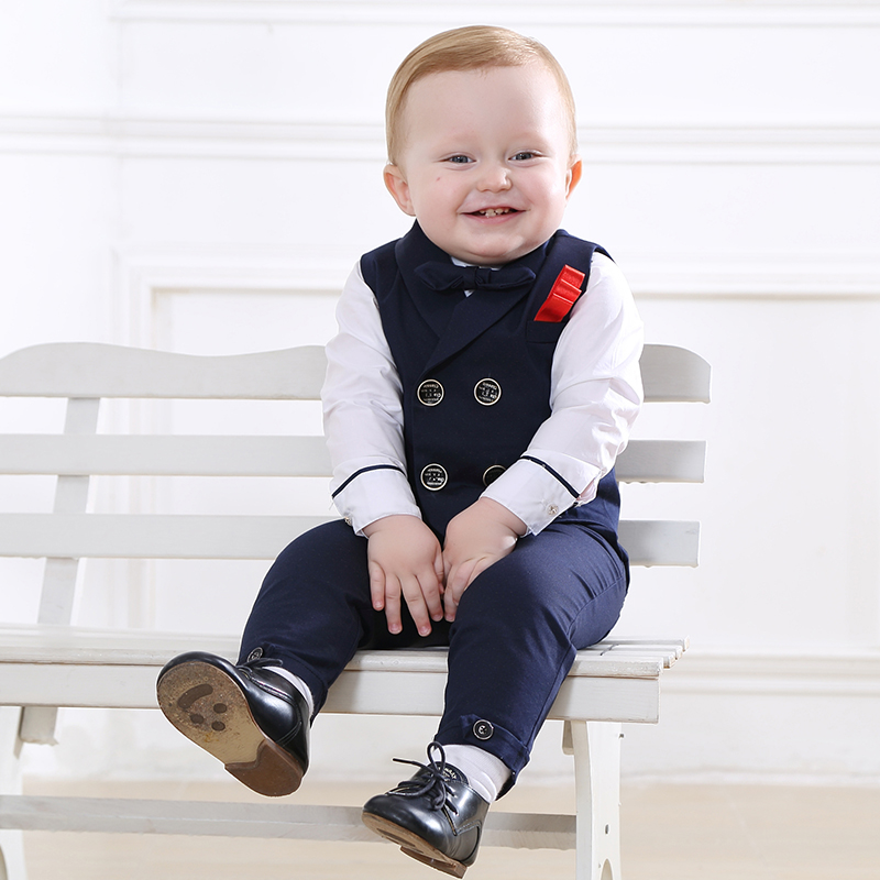 USD 15618 British Style Baby Year Old Dress Male Handsome