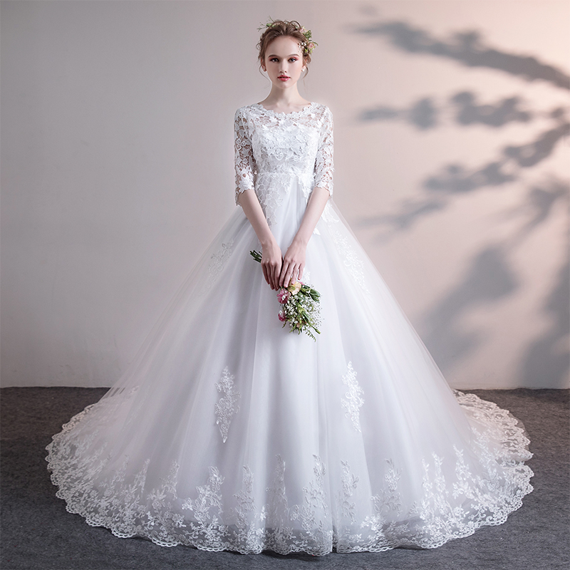 Usd 151 26 Wedding Dress 2019 New Loose Pregnancy Cover