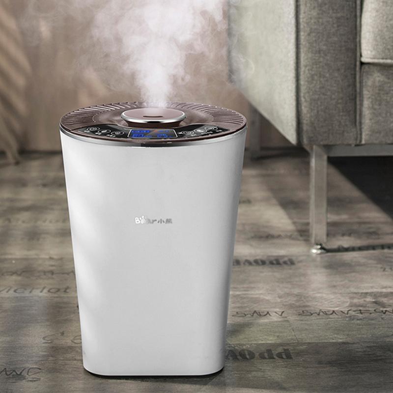 小熊智能加湿器家用静音卧室孕妇婴儿空气空调大雾量恒湿喷雾除菌