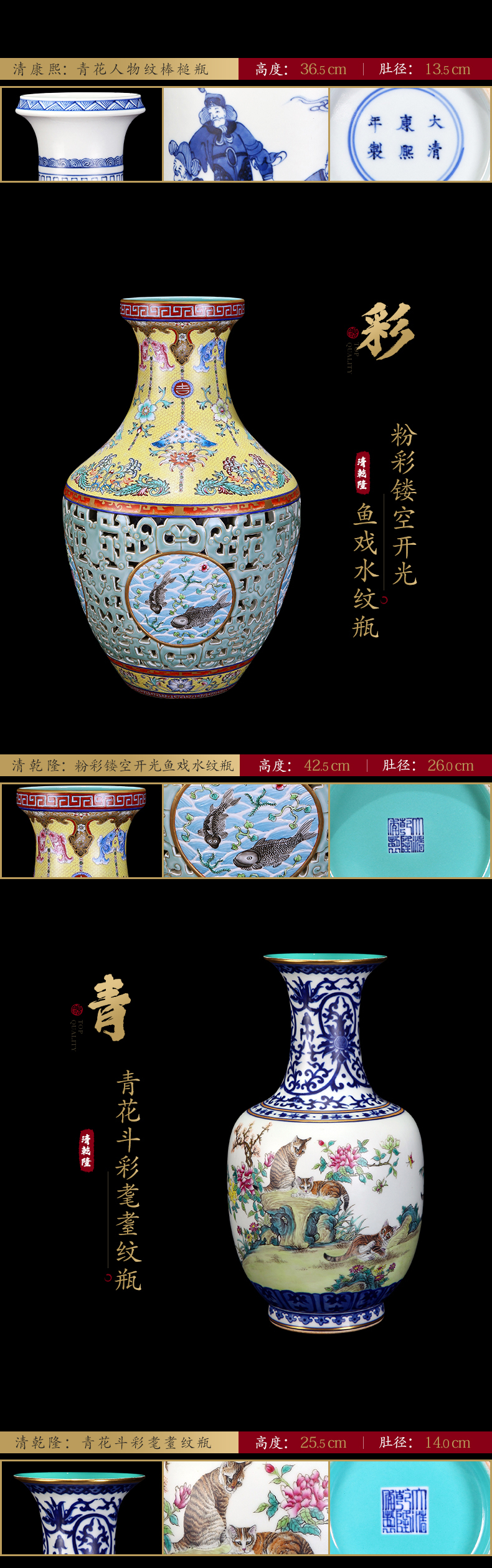 Ning hand - made antique vase seal up with jingdezhen ceramic bottle furnishing articles sitting room of Chinese style of blue and white porcelain acura ninety, period