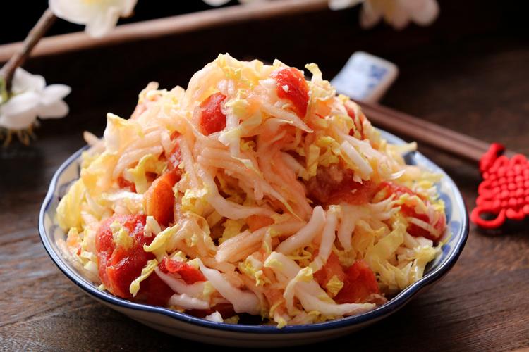 白菜新吃法,开胃解腻,特简单!