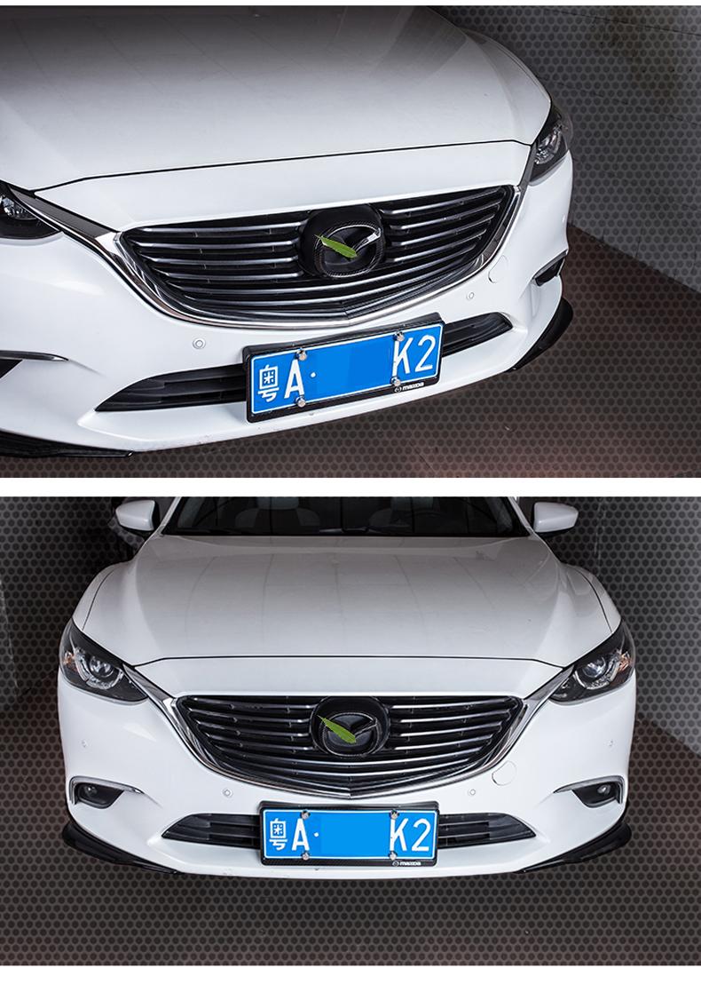 Logo trang trí trước và sau xe Mazda CX8 - ảnh 14