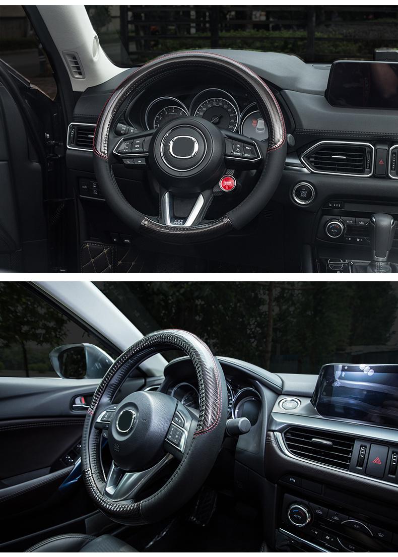 Bọc da vô lăng xe Mazda CX-5 CX8 - ảnh 14