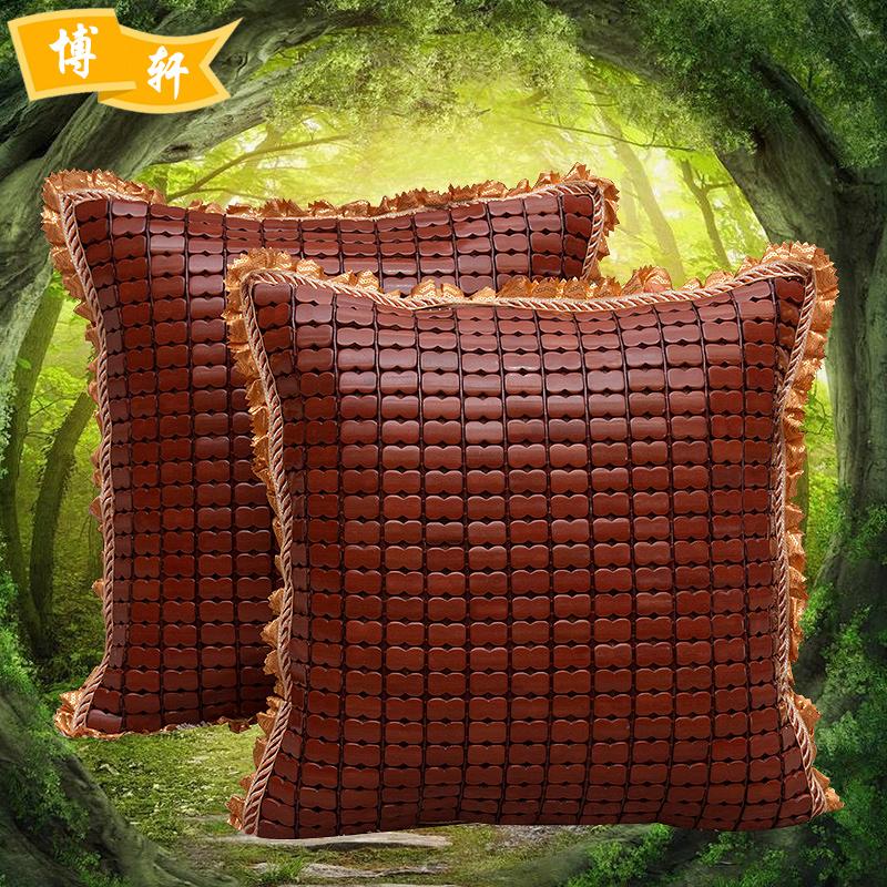 抱枕新款特价夏季麻将凉席抱枕套沙花边腰枕抱枕椅靠垫包邮