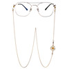 Right Zhi-long small daisy eyewear chain necklace cute Japanese female couple decoration sunglasses anti-skid chains off the personality