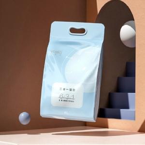 活性炭豆腐膨润土混合猫砂6L