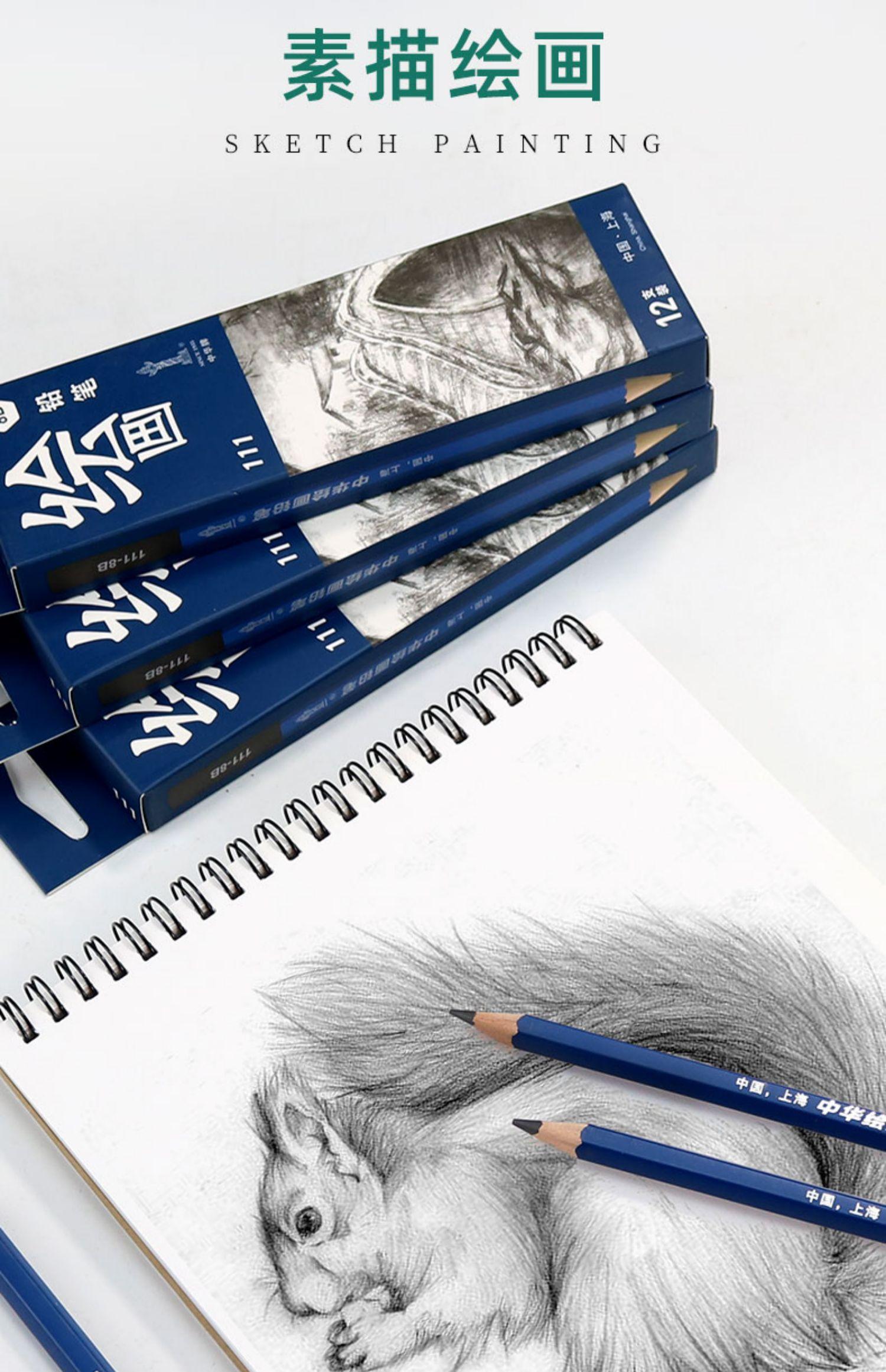 【12支】中华牌小学生无毒铅笔