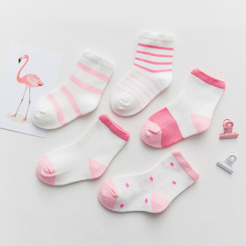 Pink Stripes 5 Pairs