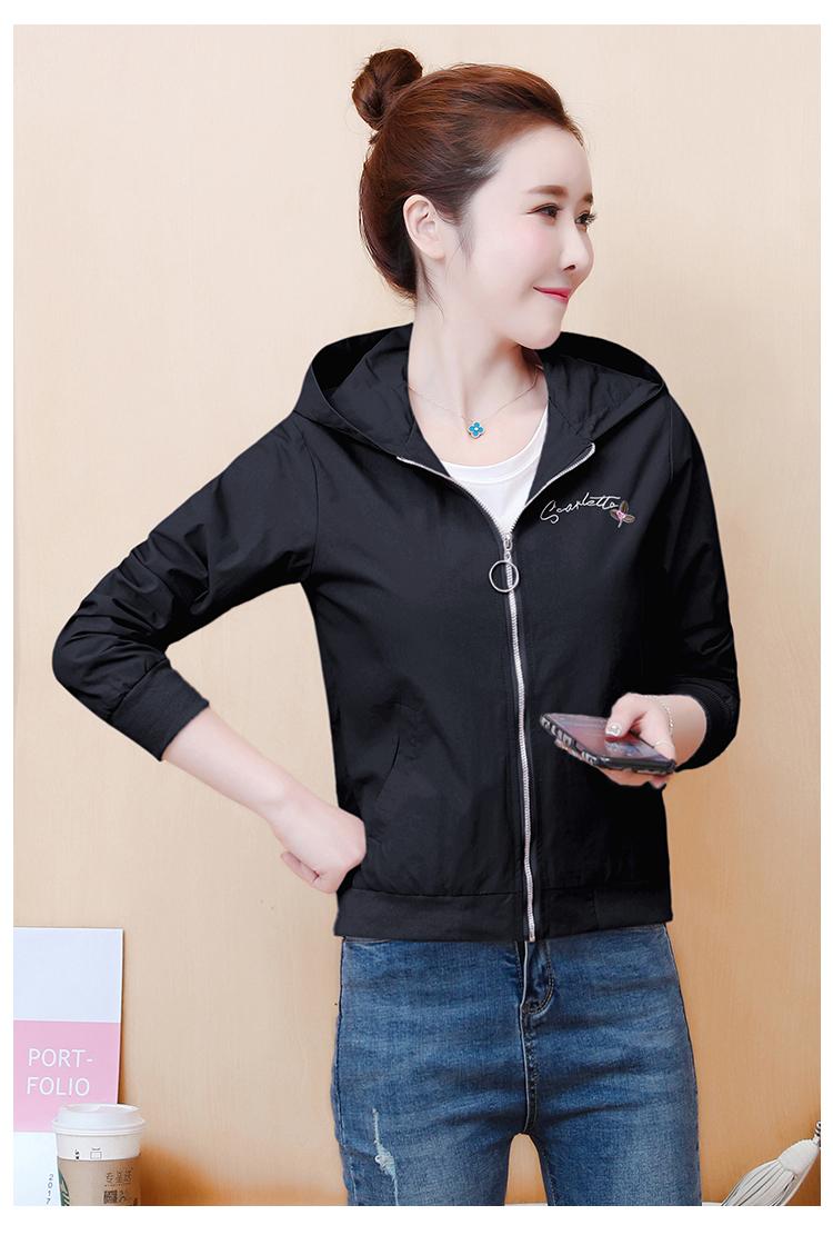 Little fresh girl short coat tide early 2020 autumn Korean version of loose-fitting skinny 100 fashion jacket baseball shirt 62 Online shopping Bangladesh