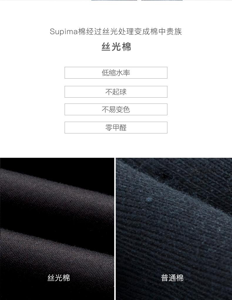 拉夫劳伦制造商 女双丝光纯棉T恤 体感降3度 图10