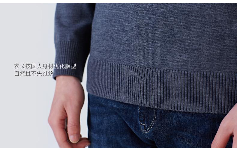 拉夫劳伦制造商 本米 男中厚100%澳洲美利奴羊毛衫 图20