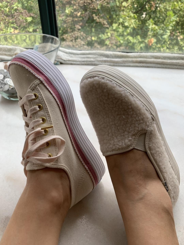 厚底帆布鞋,一秒回到校园时代