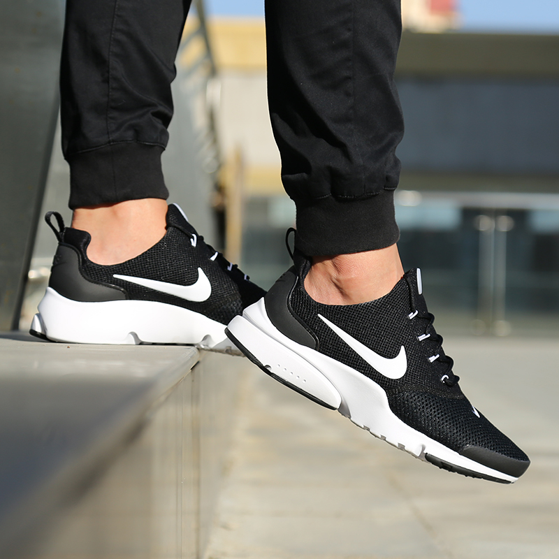los angeles 991e0 a4234 Nike Presto Fly Summer Men s Shoes Black Samurai Net Breathable Running Casual  Shoes 908019-002