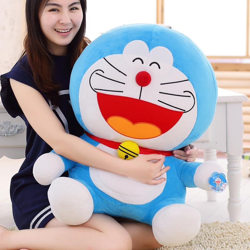 哆啦A梦叮当机器猫公仔毛绒玩具玩偶娃男朋友陪睡抱枕送女生礼物
