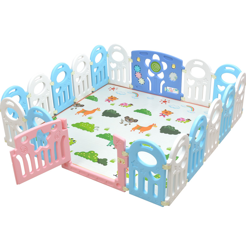 Usd 142 71 Baby Toddler Crawling Pad Fence Children Indoor Games