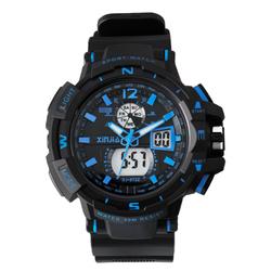 信佳防水运动手表男学生电子表青少年初中学生夜光男孩儿童手表