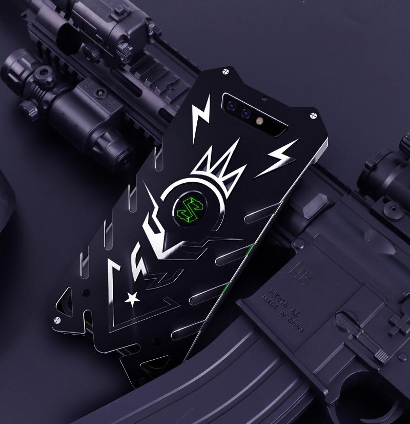 SIMON New THOR II Aviation Aluminum Alloy Shockproof Armor Metal Case Cover for Xiaomi Black Shark