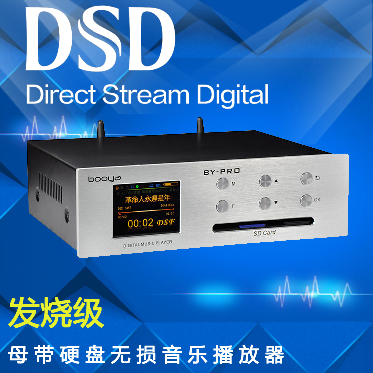Hard disk SD card U disk DSD lossless player Master tape enthusiast DAC  processor Digital turntable play APP