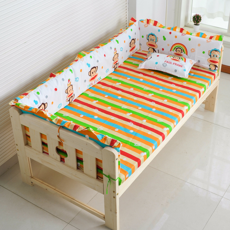 Children's bed wide bed bed circumference cotton suit with bed sheets can be customized this is not a bed