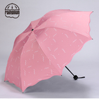 雨伞三折防紫外线晴雨两用