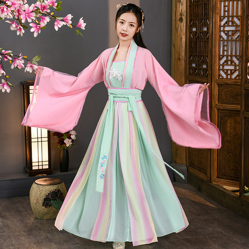 big sleeve guzheng dance costume film and television Fairy Costume
