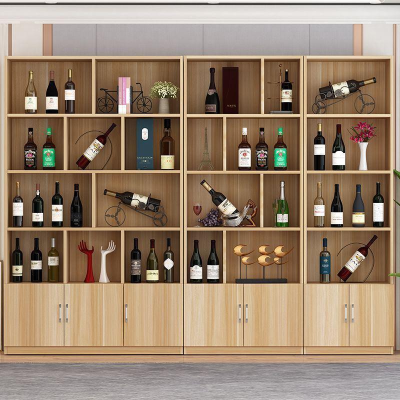 2米高书架书柜展示柜书柜储物架两米高酒柜宽6080120cm大容量