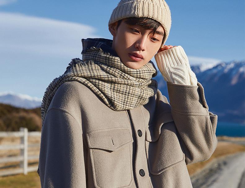潮男也保暖,秋冬优雅就靠三件套穿搭术