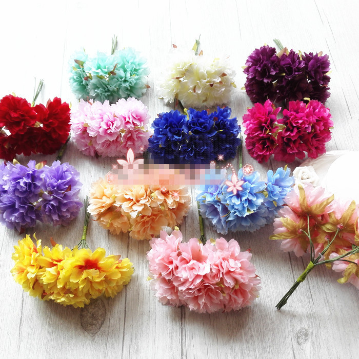 Usd 440 wedding decoration flowers cherry blossom snow mountain wedding decoration flowers cherry blossom snow mountain carnation fabric flowers artificial flowers wreath material diy handmade accessories junglespirit Images