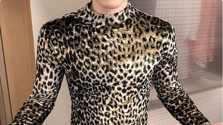 适合男生的豹纹穿搭,这个秋天就这么穿!