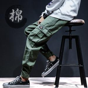 裤子男士休闲裤冬款加厚卫裤韩版潮流