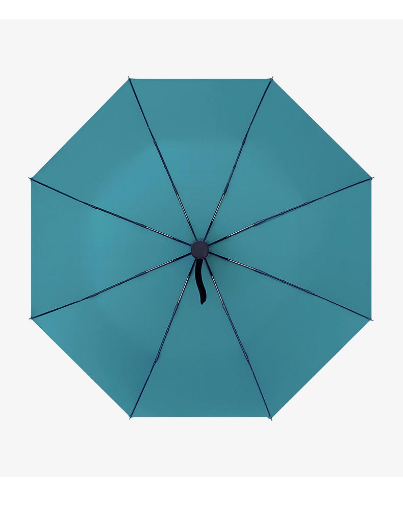 阿里自营品牌 虾选 全自动折叠雨 三折疏水伞 图6