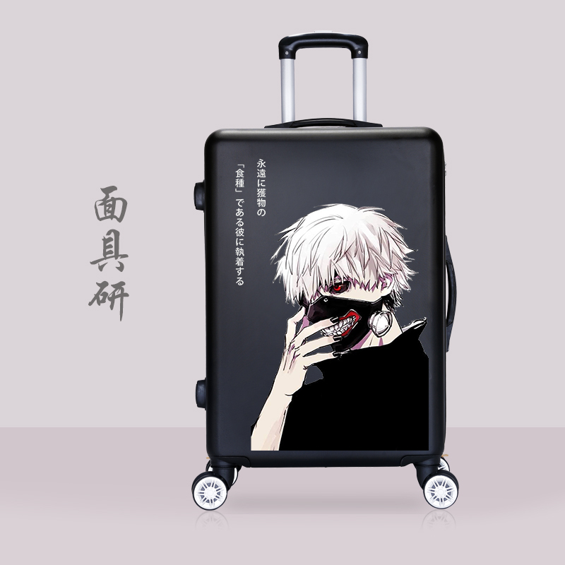 Vẫn mát mẻ tùy chỉnh xe đẩy hành lý nam xu hướng cá tính graffiti nữ sinh viên mật khẩu du lịch vali 24 inch 26 & - Va li