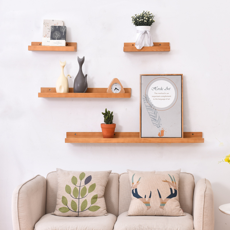 Usd 2930 Wall Shelf Bedroom Background Wall Hanging Living